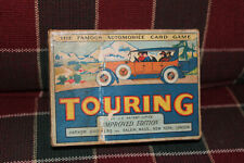 Vintage Touring, The Famous Automobile Card Game - Parker Brothers 1926