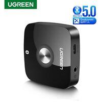 Ugreen Wireless Bluetooth 5.0 Receiver 3.5mm Jack APTX LL AUX 3.5 Audio Adapter