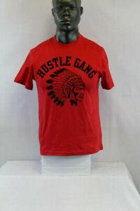 HUSTLE GANG massagua rugby ls 261-8304 red dahlia 2xl