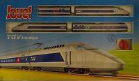 Jouef 741300 Schnellzuglokomotive Set TGV Atlantique Originalverschlossen Rare