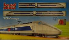 JOUEF 741300 Train Locomotive Set TGV ATLANTIQUE ORIGINAL fermé RARE