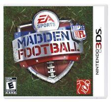 Madden NFL Football Nintendo 3DS Video Games