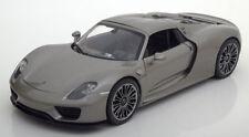 1:18 Welly Porsche 918 Spyder hardtop 2012 greymetallic