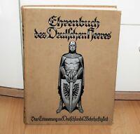 Ehrenbuch Buch des Deutschen Heeres Zweiter Band 1928 Vaterländischer Verlag