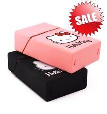 20 Cigarettes Hello Kitty Lovery Silicone Cigarette Case Pink