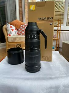 IMMACULATE -Nikon AF-S 200-500mm f/5.6E ED VR Lens - UNMARKED condition