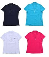 NEW Tommy Hilfiger Women's Stretch Mesh Polo Shirt - VARIETY