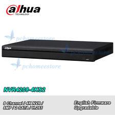 Dahua NVR4208-4KS2 8Ch NVR 4K H.265 1U Case Network Video Recorder P2P 2 SATA