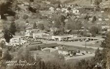 Mill Valley Ca Locust District Real Photo Postcard