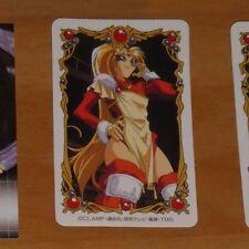 MAGIC KNIGHT RAYEARTH LUCHADORAS DE LEYENDA SEGA CARD CARTE CARD CLAMP JAPAN #1