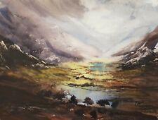 Cumbria Original Signed Art Watercolour Painting by Steven Cronin