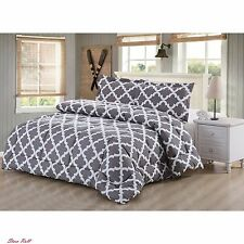 Twin Comforter Sets For Adults Girls Bedding Bedroom Printed Gray 1 Pillow Sham