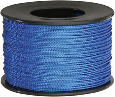 Parachute Cord Nano Cord Blue 75mm x 300ft. Blue braided premium nylon sport and