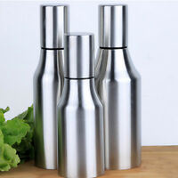 Kitchen Stainless Steel Oil Bottle Dispenser Vinegar Olive Edible Container Pot