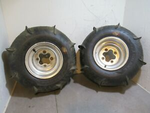 Honda ATC 200X Rear Paddle Wheels 20x11-9 84