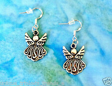 SILVER ANGEL EARRINGS~BAPTISM FIRST HOLY COMMUNION CONFIRMATION RELIGIOUS GIFT