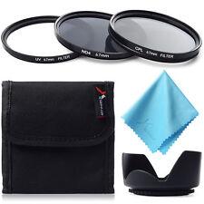 5in1 UV CPL ND4 Filter + Lens Hood 67mm for Nikon D3200 D3100 D90 Pentax LF284