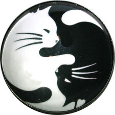 Cat /& Mouse  Crystal Dome Button 1 /& 3//8 inch FREE US SHIPPING C165