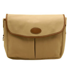 HOME Works-Crema Pesca in Tela Stile Messenger Bag