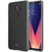 For LG V30S ThinQ Case , LG V30 Plus Case ,  Clear Tpu Silicon Soft Back Cover