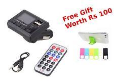 Car Charger Kit MP3 Player Wireless FM Transmitter Modulator USB Drive SD Remote