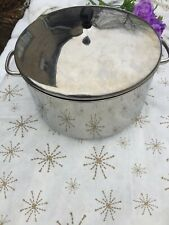 FARBERWARE POLISHED Stainless 12 Quart COVERED STOCK POT