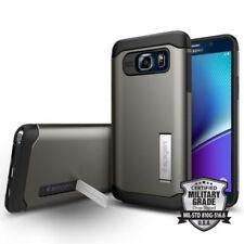 Fundas y carcasas Spigen color principal plata para teléfonos móviles y PDAs