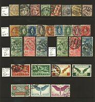 Switzerland small range of issues to include UPU types, standing helve FU stamps
