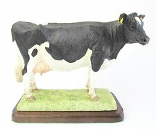 Border Fine Arts Holstein Cow Figurine A26895 The Cattle Collection