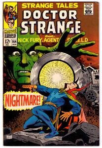 STRANGE TALES #164 in VF/NM a 1967 MARVEL comics with DOCTOR STRANGE & NICK FURY