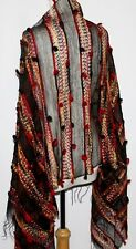Tribal Grunge Steam Punk Belly Dance Dancing Burlesque Gothic Goth Shawl Scarf