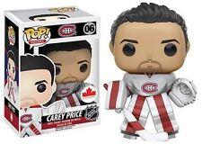 Funko POP! NHL: Carey Price (White Away Jersey) - Hockey Vinyl Figure 06 NEW