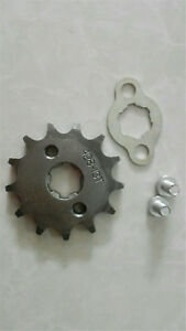 13Tooth 17mm Front Engine Sprocket Gear For 50cc-160cc Dirt Pit Bike Quad ATV
