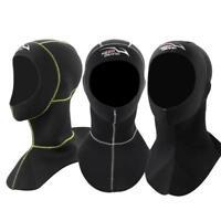 3MM Swim Swimming Neoprene Diving Cap Warm Wetsuit Snorkeling Hood Neck Hat WY