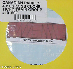 Tichy Train Group O #10150O Canadian Pacific 40' USRA SS Clone (O Scale)