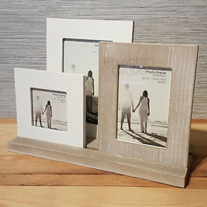 Wooden Triple Photo Frame Shabby Chic Picture Holder New Rustic Home Decor Gift