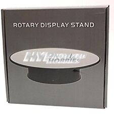 """10"""" ROTARY DISPLAY STAND BLACK BASE WITH MIRROR TOP 88010"""