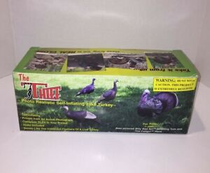 NEW Cherokee Sports The Thief Self Inflating Jake Turkey Decoy