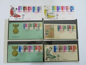 ASIAN GAMES SPECIAL  COLLECTION SCARCE FDC  >> Pictures !  /dL748