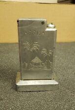 Vintage WWII World War 2 Aluminum Table Lighter Africa