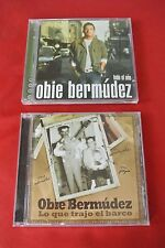 Obie Bermudez Todo el Año Lo que Trajo el Barco Latin Pop CD Lot of 2