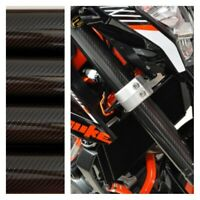 Fork Skins Guards Covers Glossy Carbon Fiber Stickers Ducati Monster Panigale