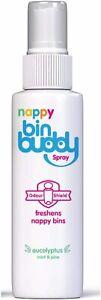 Bin Buddy Nappy Bin Deodoriser Spray x2