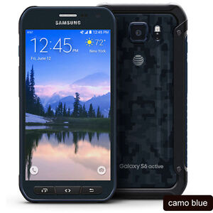 Samsung Galaxy S6 active G890 G890A  Android Cellphone 3GB RAM 32GB ROM For AT&T