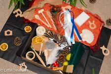 Treasure Basket, Sensory Basket- Montessori Learning Resource 28 items