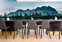 Original wall deco Mural sticker meeting conference room inspiration mountains