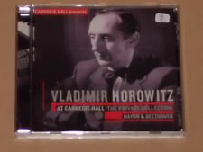 Vladimir Horowitz at Carnegie Hall-The Private Collection CD
