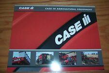 2005 CASE-IH  AGRICULTURAL EQUIPMENT farm literature