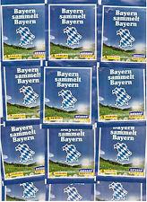 Bayern sammelt Bayern / 50 Tüten / Panini / Sticker