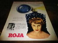 ROJA - 100000 ETOILES - Publicité de presse / Press advert !!! 1958 !!!